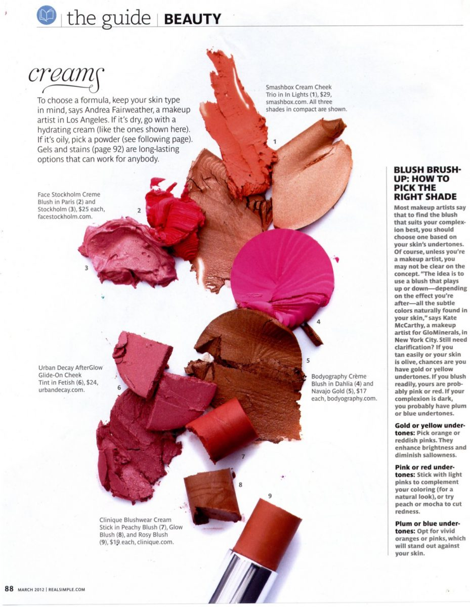 Real Simple March 2012 Blush